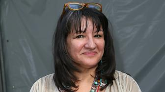 LOS ANGELES, CA - APRIL 13:  Author Sandra Cisneros attends the 19th Annual Los Angeles Times Festival of Books - Day 2 at USC on April 13, 2014 in Los Angeles, California.  (Photo by David Livingston/Getty Images)