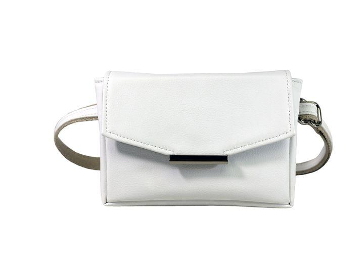 "<a rel=""nofollow"" href=""http://www.hipstersforsisters.com/convertible-belt-bag-white-vegan-leather"" target=""_blank"">HfS Belt"