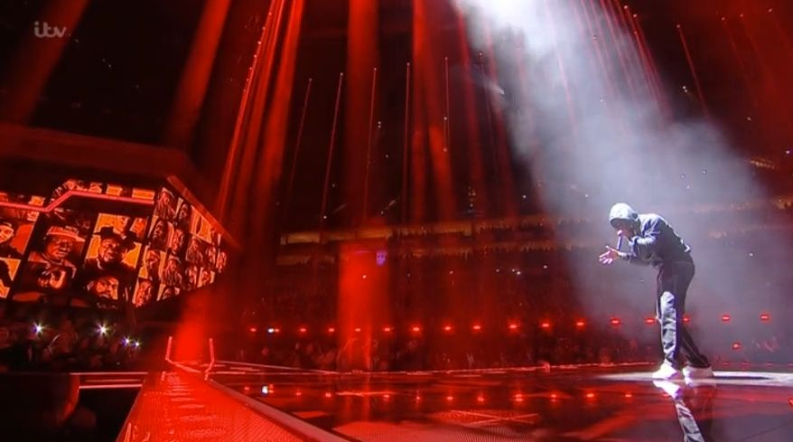 Brit Awards Viewers Were Not Happy That Skepta's Performance Was So Heavily