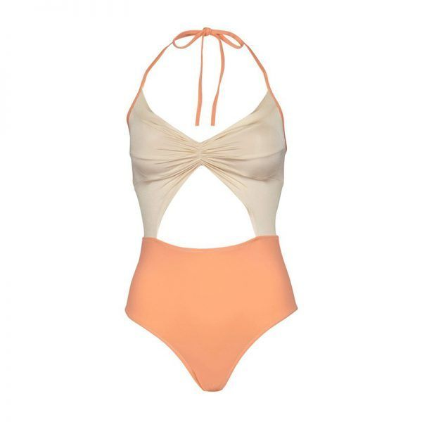 """<p><a rel=""""nofollow"""" href=""""https://www.korewear.com/collections/maillots/products/flora-maillot-resort-2017?variant=19379753349"""" target=""""_blank"""">Flora Maillot</a>, Kore Swim $253</p>"""