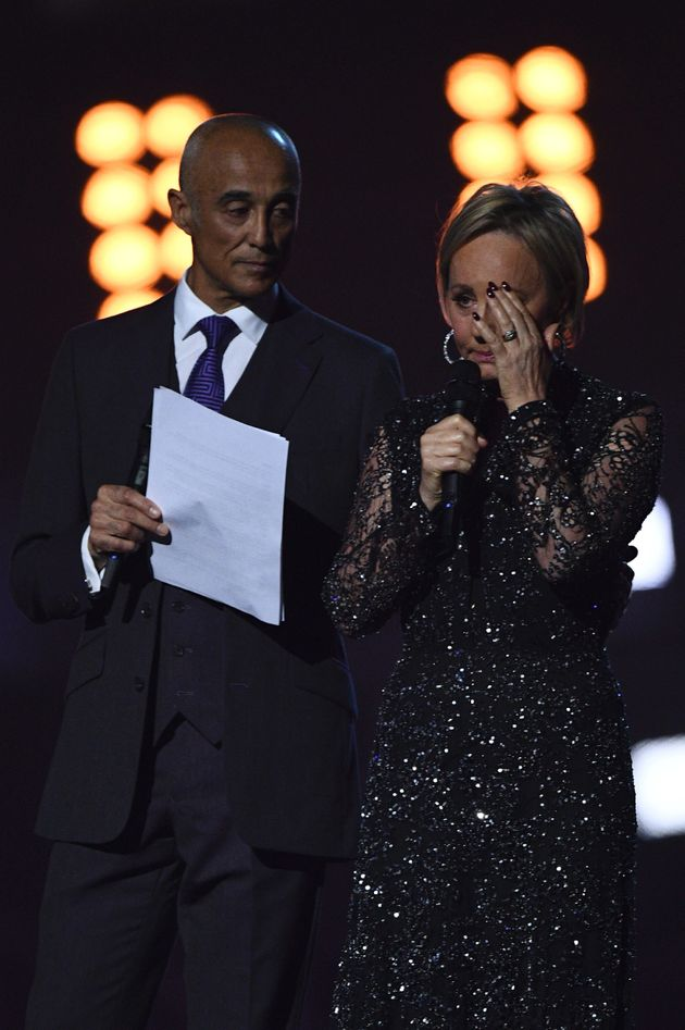 Shirlie Kemp became emotional during the