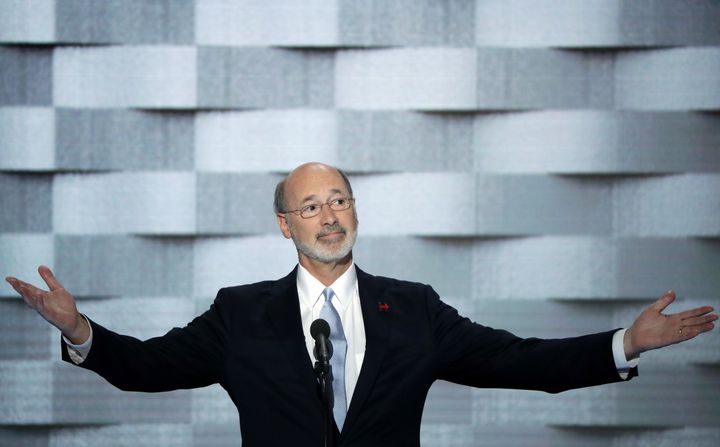 Gov. Tom Wolf (D-Pa.) is undeterred by Trump's victory and recent Democratic losses.