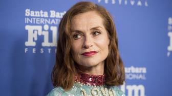 SANTA BARBARA, CA - FEBRUARY 08:  Actress Isabelle Huppert attends the Montecito Award during the 32nd Santa Barbara International Film Festival at the Arlington Theatre  on February 8, 2017 in Santa Barbara, California.  (Photo by Jennifer Lourie/Getty Images)