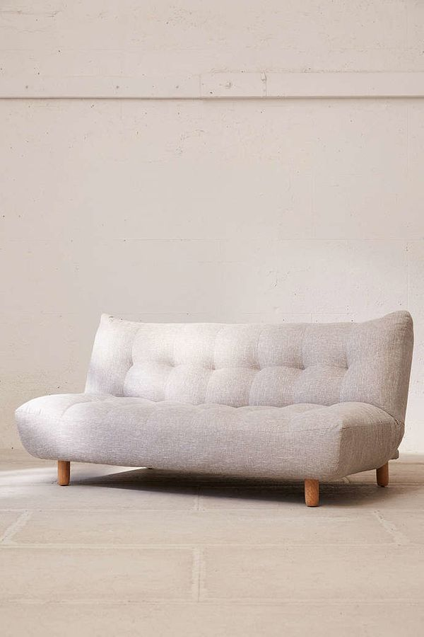 "<strong>Winslow sleeper sofa, $649, from <a href=""http://www.urbanoutfitters.com/urban/catalog/productdetail.jsp?id=41751710&"