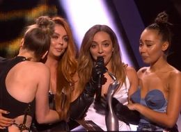 Little Mix's Reaction To Their Brit Awards Win Was Typically Brilliant