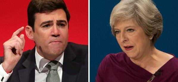Andy Burnham Slams Theresa May For 'Misrepresenting' Him In NHS Attack