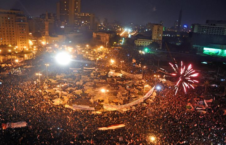 Tahrir Square, 11 February 2011
