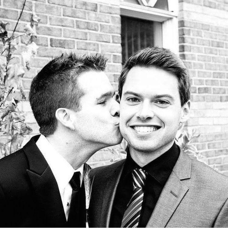 Nathan (left) and John