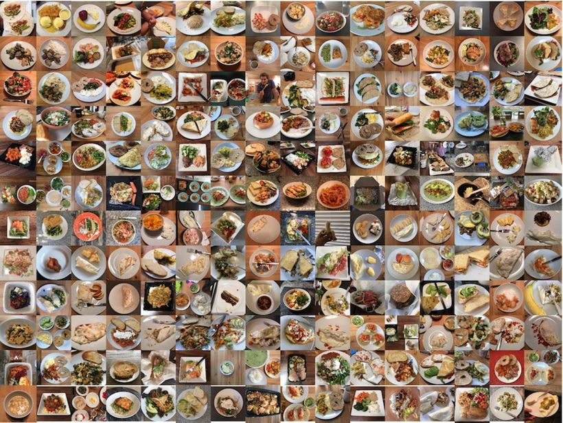 """""""You start to see patterns emerging and tend to diversify your food choices just so you can take a photo of something more in"""