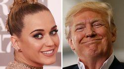 Katy Perry Throws Grade A Shade At Trump During Brit Awards