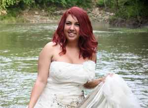 Divorce News  News  Blogs  Stats  Issues And Articles Woman Wades Through Mud Then Sets Wedding Dress On Fire To Celebrate Her Divorce