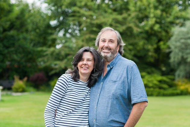 Helen Bailey with Ian Stewart, who has been convicted of murdering her in a plot to get hold of her £4million
