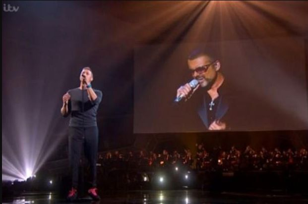 Chris Martin performed 'A Different Corner' with George Michael's vocals at last night's