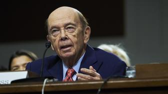 Billionaire investor Wilbur Ross, commerce secretary nominee for U.S. President-elect Donald Trump, speaks during a Senate Commerce, Science and Transportation Committee confirmation hearing in Washington, D.C., U.S., on Wednesday, Jan. 18, 2017. Ross is warning America's trading partners to practice 'fair trade' and cut state control over business if they want access to the world's biggest economy. Photographer: T.J. Kirkpatrick/Bloomberg via Getty Images