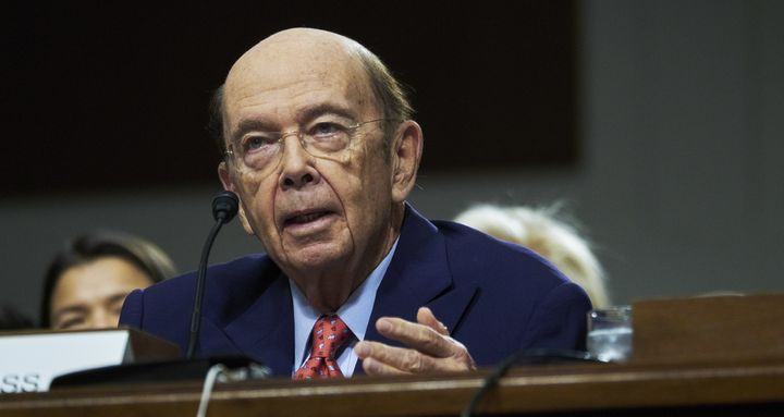 Billionaire investor Wilbur Ross, commerce secretary nominee for U.S. President-elect Donald Trump, speaks during a Senate Co