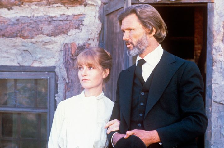 "Isabelle Huppert and Kris Kristofferson star in a scene from 1980's ""Heaven's Gate."""