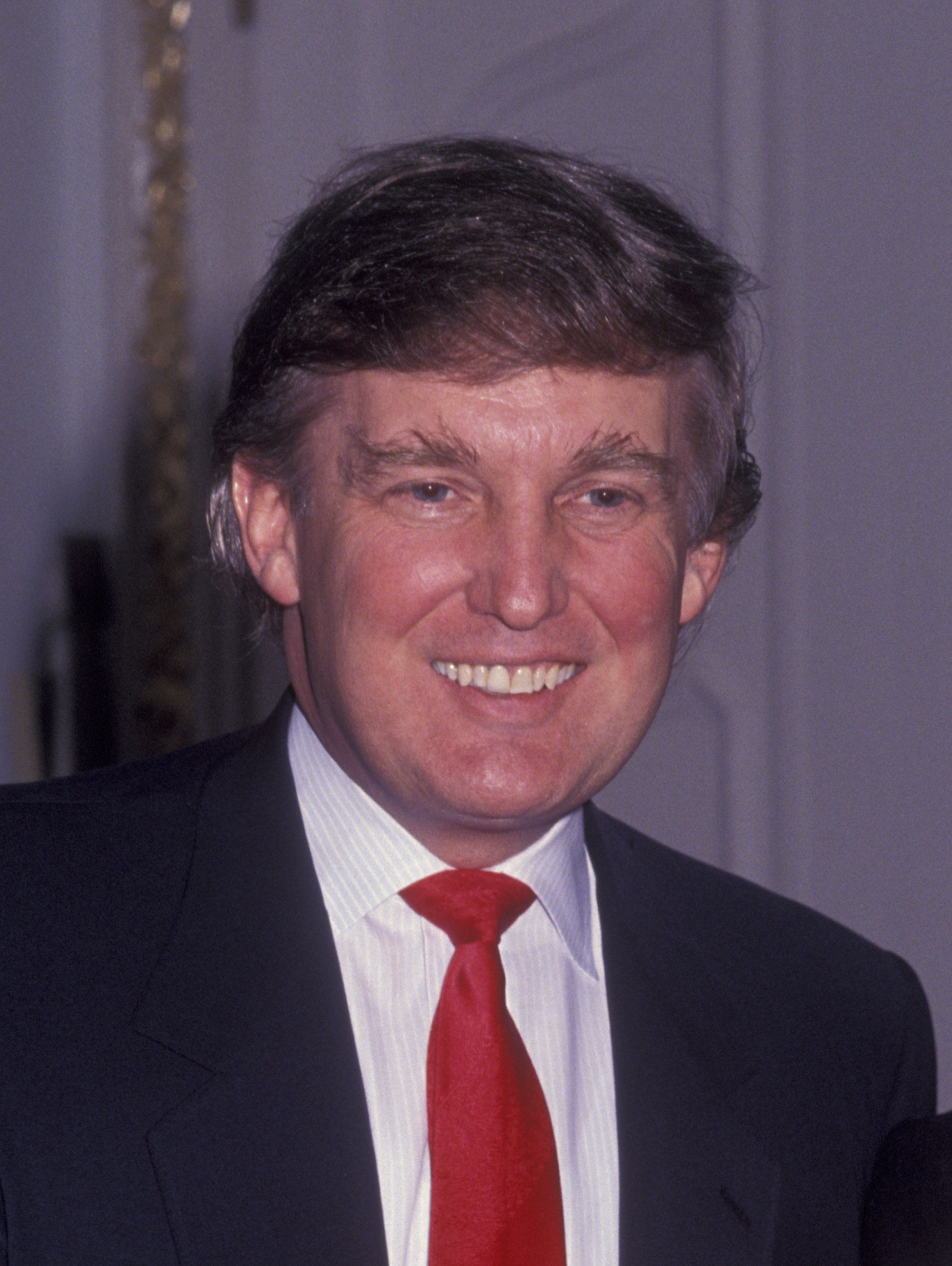 NEW YORK CITY - MAY 1:  Donald Trump attends Elite Models 'Look of the Year' Awards on May 1, 1991 at the Plaza Hotel in New York City. (Photo by Ron Galella/WireImage)