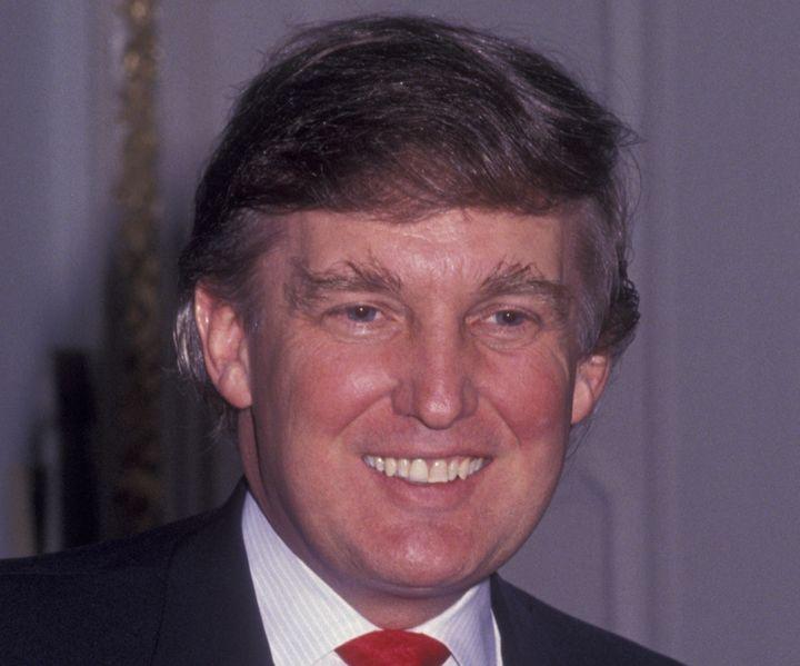 Donald Trump circa 1991.