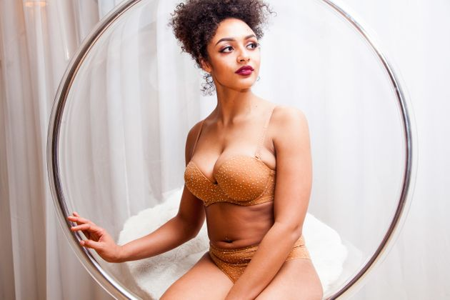 Nubian Skin x D.Bleu.Dazzled's Bejewelled Lingerie Is The Inclusive Collection We've Been Waiting