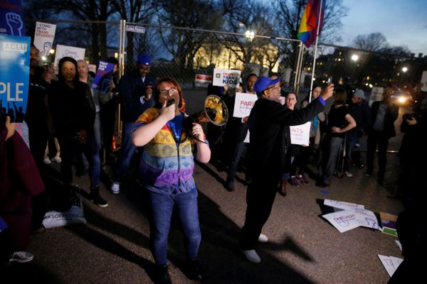"""Transgender youth face extremely high rates of discrimination and bullying. By rescinding the Department of Education"