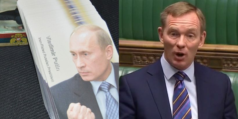 Right: UK Labour MP Chris Bryant