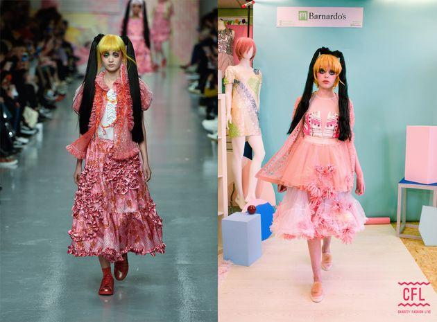 Pink tutu: £4.99, tutu (worn underneath): £9.99, white dress worn as undergarment: £8.99,...