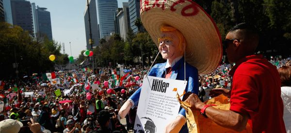 Mexico Is Unified Against Trump But Divided On Its Own President