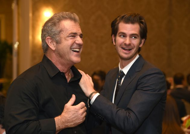 Is Mel's redemption complete? His 'Hacksaw Ridge' star Andrew Garfield thinks