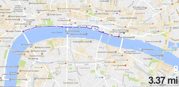 London's Best Lunchtime Runs: Six Of The Best Routes To Smash Your Fitness Goals During The