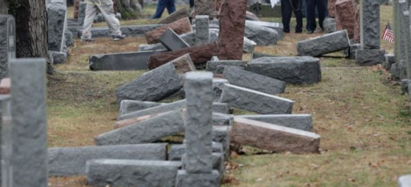 Vandalism In A Historic Jewish Cemetery Is Un-American