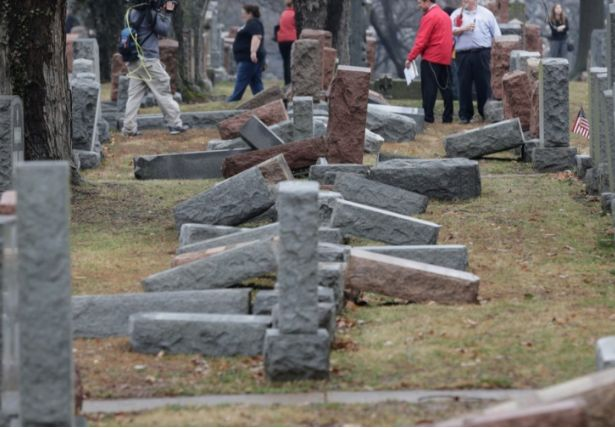 Eastern Missouri police not calling Jewish cemetery vandalism a hate crime