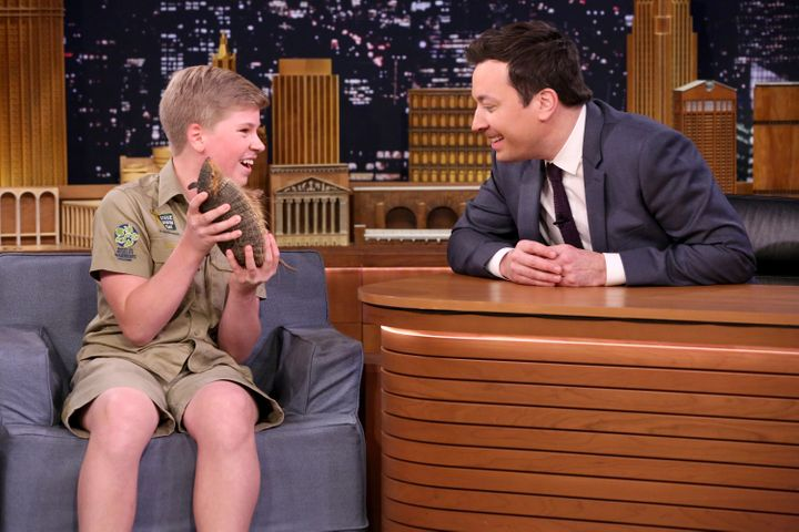 """Robert on """"The Tonight Show."""""""