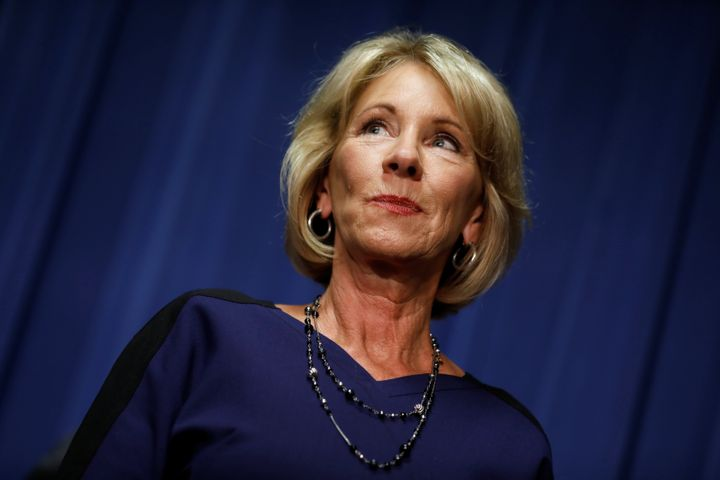 Betsy DeVos at CPAC: Obama's Guidance For Transgender Students Was 'Overreach'