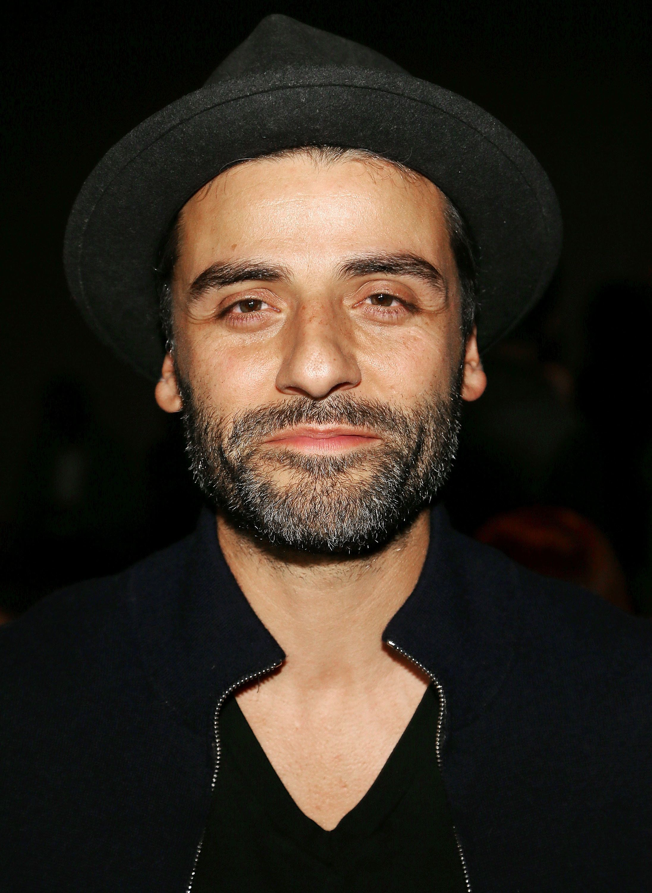 NEW YORK, NY - SEPTEMBER 12:  Actor Oscar Isaac attends the Rag & Bone fashion show during New York Fashion Week September 2016 at Skylight Clarkson North on September 12, 2016 in New York City.  (Photo by Paul Morigi/WireImage)