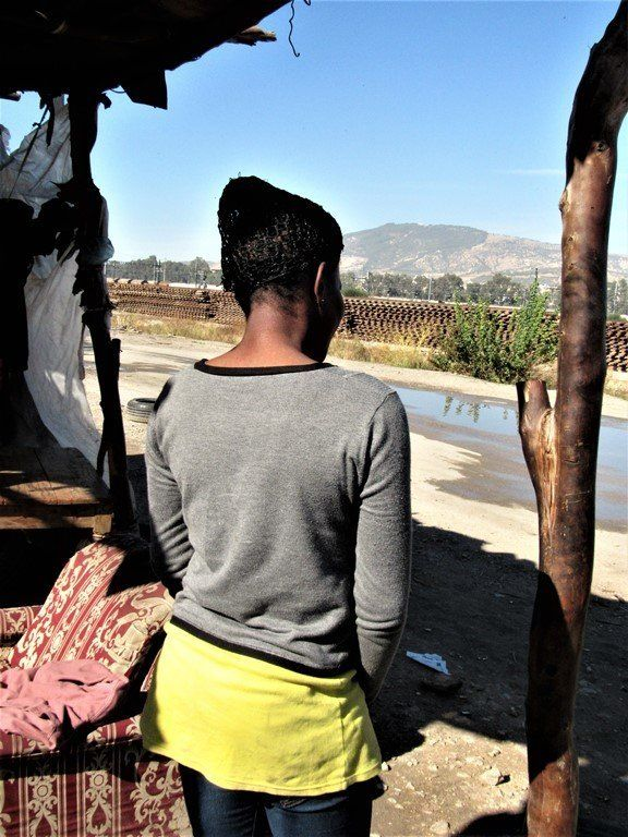 Juliet Bamawo, 16, has dreams of becoming a nurse but can't find enough work to get her out of the refugee camp in Fez.