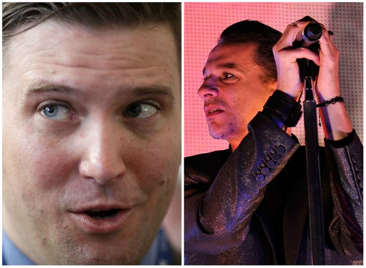 Richard Spencer might be a Depeche Mode fan, but they are not fans of his.