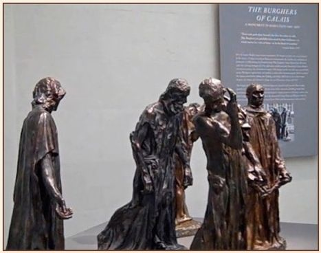 <em>The Burghers of Calais</em>, 1886-88. Bronze, various dimensions. Fine Arts Museums of San Francisco, Gift of Alma de Bre