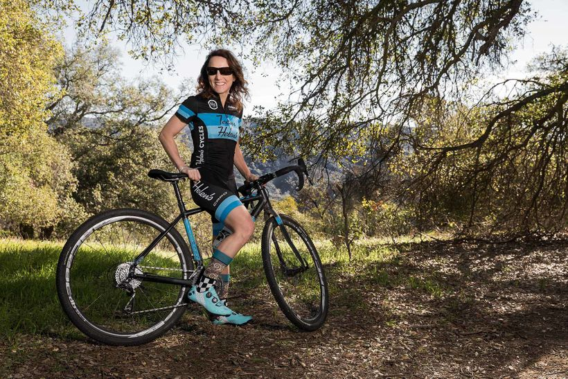 <em>Heidi Volpe, photographed by her Topanga Canyon, California home. Volpe is a highly accomplished cross-country and endura