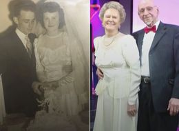 65 Years Later, Woman Celebrates Anniversary In Her Wedding Dress