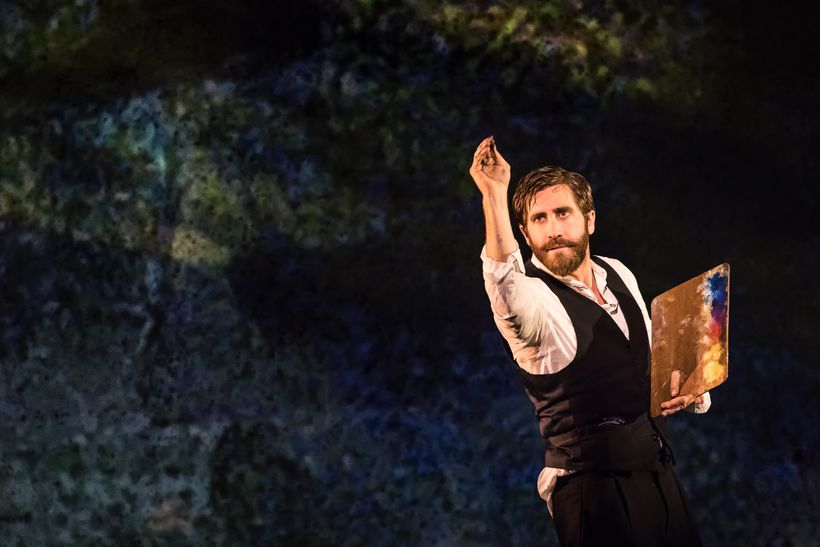 Jake Gyllenhaal in <em>Sunday in the Park with George</em>