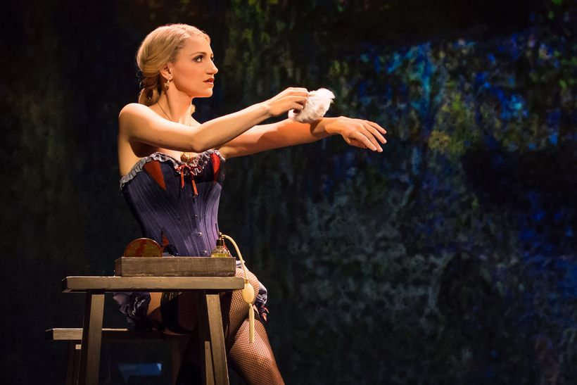 Annaleigh Ashford in <em>Sunday in the Park with George</em>