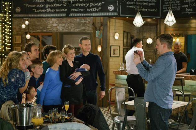 Steve steps in to help the Platts take the perfect