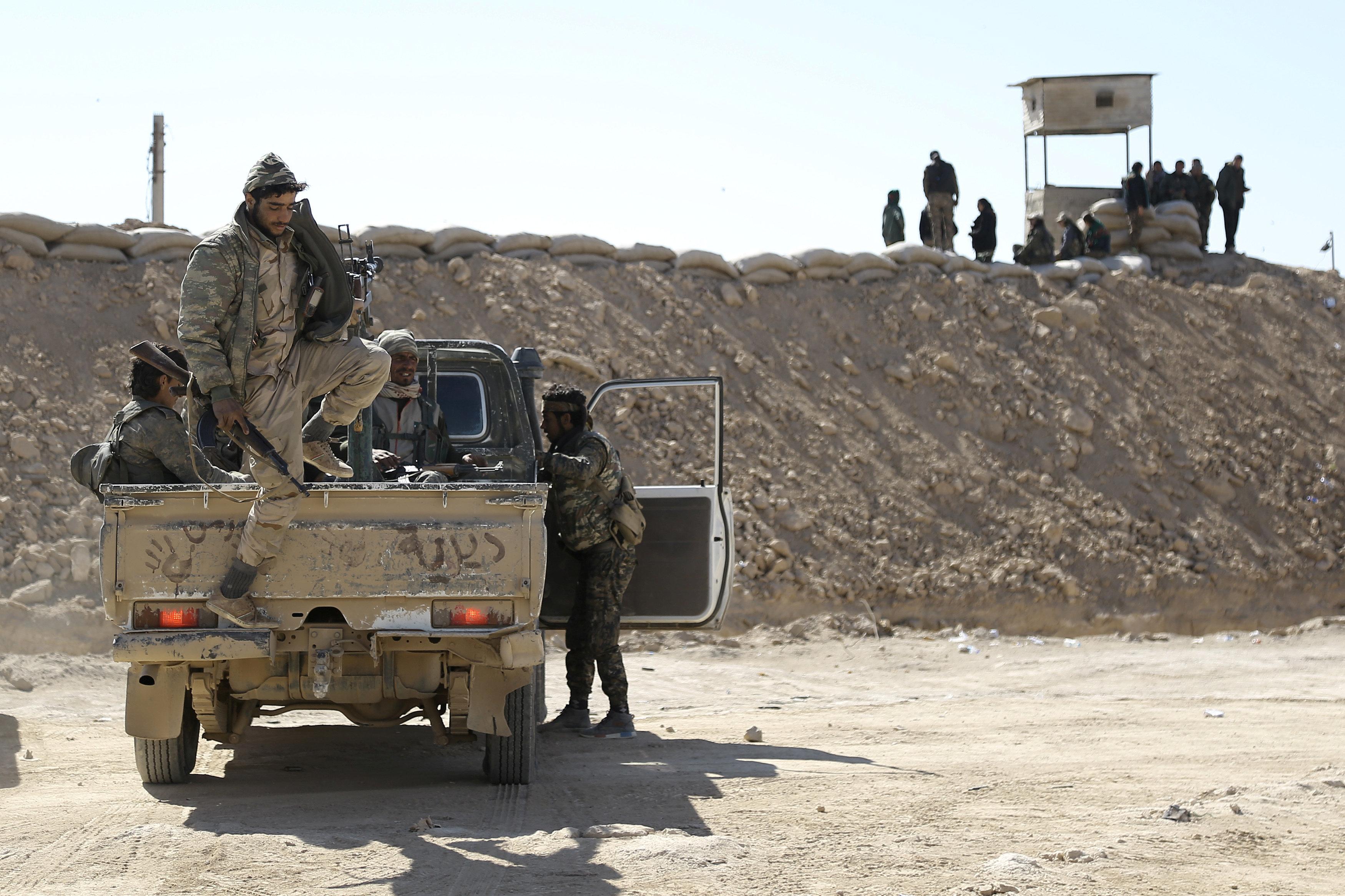 Car Bomb Blast Kills Dozens At Security Checkpoint In