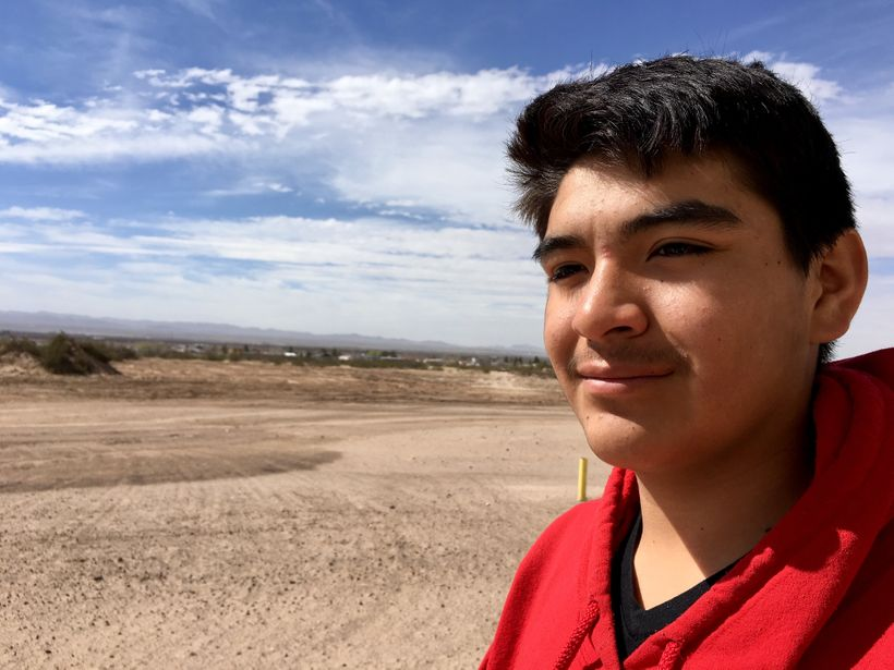 Jarred Flores' ancestors founded Tornillo and he says the Music Unwound workshops at his high school helped him appreciate hi