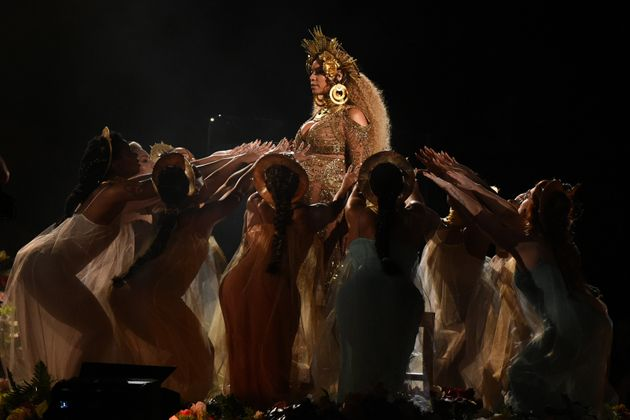 Her performance was one of the night's