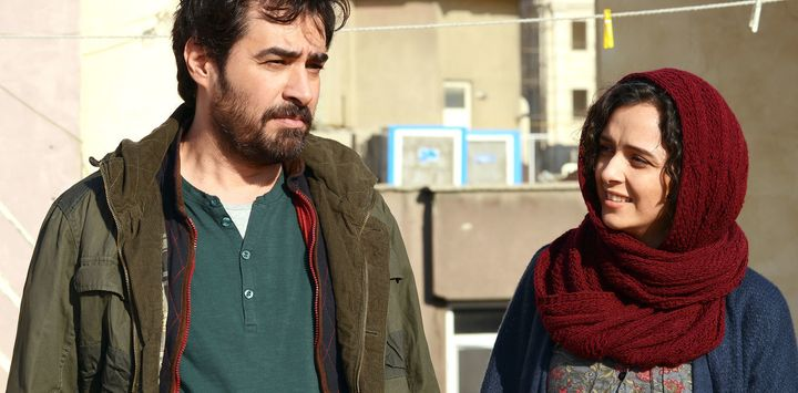 Taraneh Alidousti and Shahab Hosseini in Iran's The Salesman.