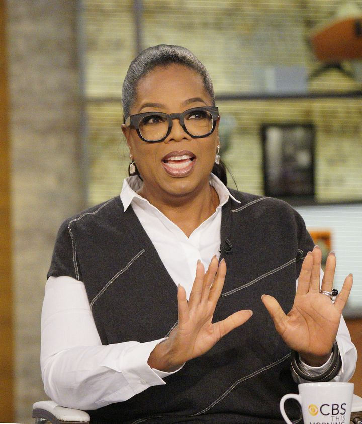 """Oprah Winfrey says she is a """"mother to the world's children."""""""