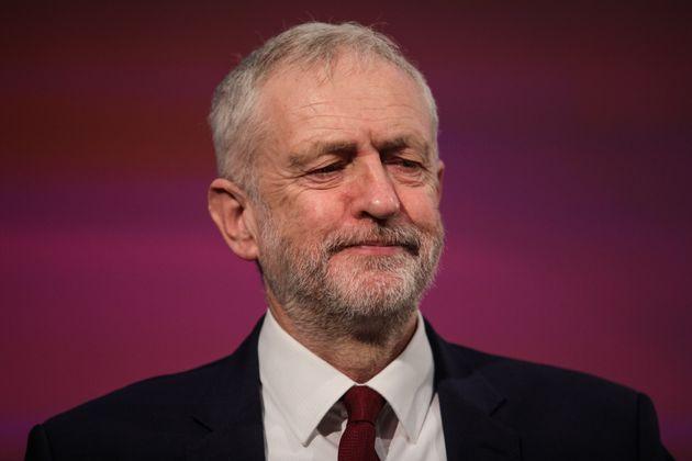 Jeremy Corbyn at a speech after the by-election
