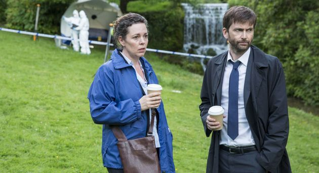 Miller and Hardy (Olivia Colman and David Tennant) are back in