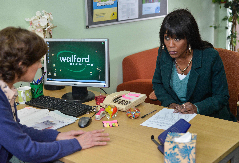 Spoiler! Could EastEnders' Denise Fox Decide Against Adoption After